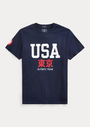 Ralph Lauren Team USA One-Year-Out Graphic Tee
