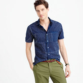 Industry Of All Nationstm Short-sleeve Batik Shirt In Dot