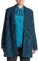 Basler, Plus Size Long Nubby Cardigan