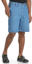 Wrangler Angler Flat-Front Shorts Casual Male XL Big & Tall