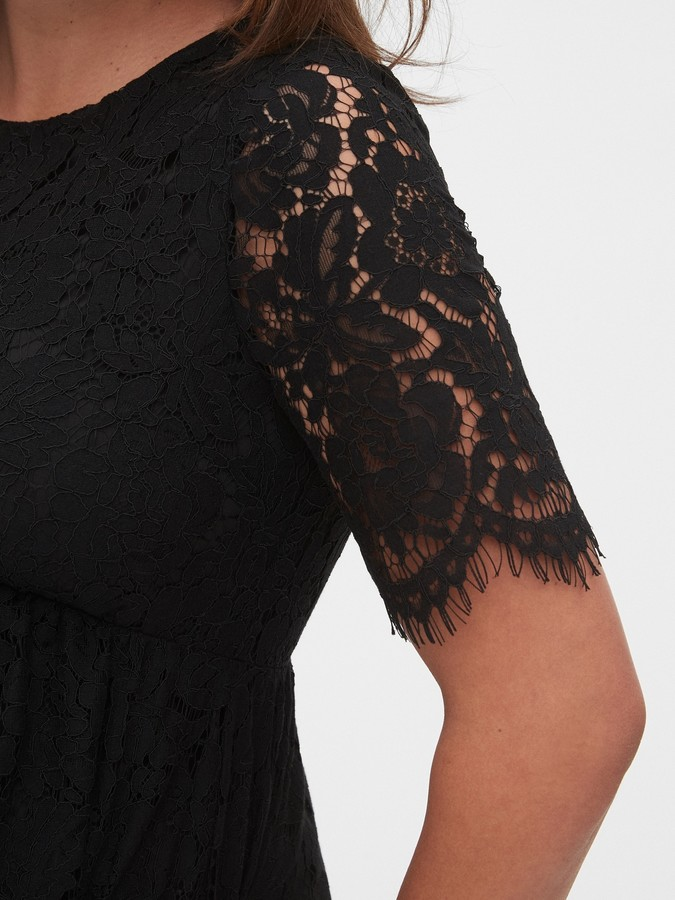 Thumbnail for your product : Gap Maternity Lace Dress