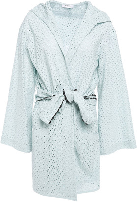 Marysia Swim Saguaro Broderie Anglaise Cotton Robe