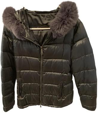 Prada Grey Fur Coat for Women