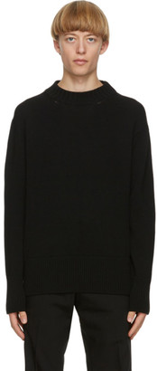 Paul Smith Black Merino Sweater