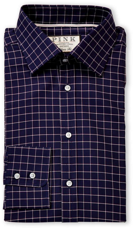 83d478a8 Thomas Pink Blue Men's Dress Shirts - ShopStyle