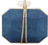Iris Stingray Minaudiere, Blue
