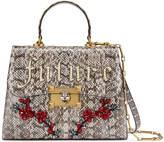 Gucci Snakeskin top handle bag