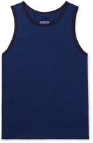Thumbnail for your product : Blue Blue Japan Indigo-Dyed Cotton-Jersey Tank Top