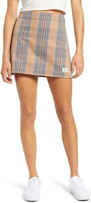 BDG Check Pelmet Miniskirt