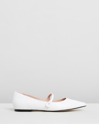 Atmos & Here Brigette Leather Flats