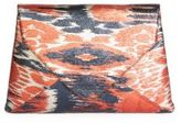 Dries Van Noten Printed Envelope Clutch