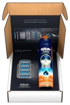 Gillette Fusion® ProShield Chill Razor Blade Refills 4 ct + ProGlide Sensitive Shave Gel 6oz - 1 kit