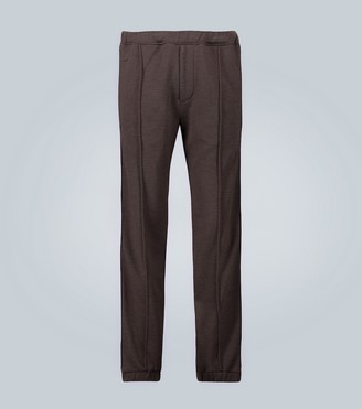 Fendi Cashmere-silk lounge pants