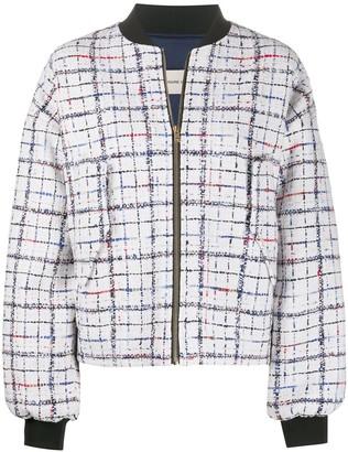 Alexandre Vauthier embroidered bomber jacket