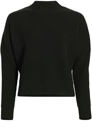 Akris Punto Wool & Cashmere Mockneck Knit Sweater