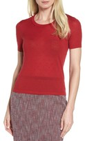 BOSS Women's Fineen Wool Dot Jacquard Sweater