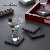 Crate & Barrel Set of 4 Slate Coasters