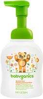BabyGanics foaming hand sanitizer - 8.45 oz.