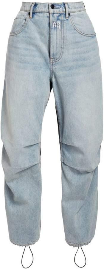 Alexander Wang Nylon Denim Pants