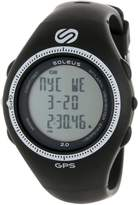 Soleus Men's SG002004 Black and White Digital Watch