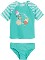 Floatimini Popsicle Rash Guard Set (Toddler & Little Girls)