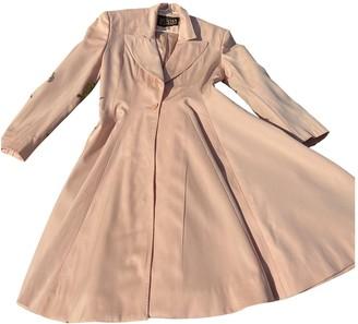 Norma Kamali Pink Wool Coats
