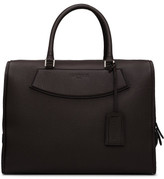 Canali Leather Stamp Large Brief Bag