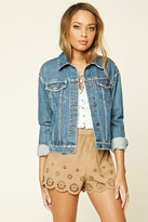 Forever 21 FOREVER 21+ Faux Suede Shorts