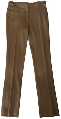 Stella McCartney Camel Wool Trousers