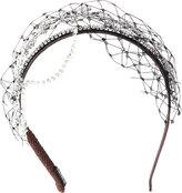 Stephen Jones Miu Miu bead-detail headband