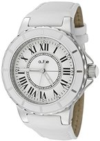 A Line Women's Marina Round Watch Strap Color: White