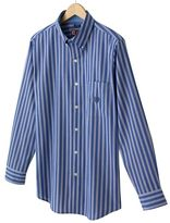 Chaps easy-care striped casual button-down shirt