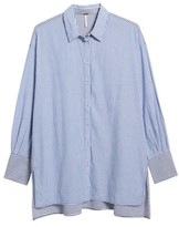 Free People Women's Lakehouse Oversize Shirt