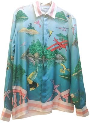 Casablanca Multicolour Silk Top for Women