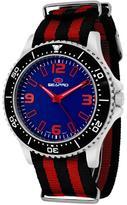 Seapro SP5313NR Men's Tideway Black & Red Nylon Watch