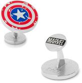 Marvel Captain America Distressed Shield Cufflinks