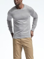 Banana Republic Silk Cotton Cashmere Crew
