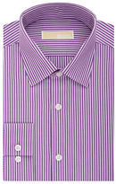 MICHAEL Michael Kors Slim-Fit Striped Dress Shirt