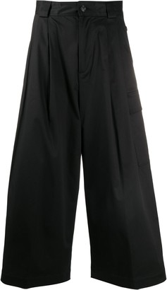 Woolrich Pleat Detail High-Waisted Trousers