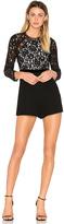 Alexis Tammy Romper in Black. - size L (also in M,S,XS)