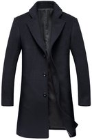 Oncefirst Men's Winter Wool Blend Pea Coat 35