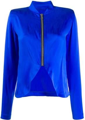 RtA zip detail blouse