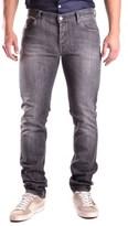 Daniele Alessandrini Men's Grey Cotton Jeans.