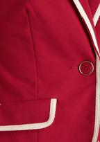 Academia Ahoy Blazer in Red