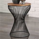 Signature Design by Ashley Marxim Wood Top End Table
