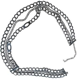 Christian Dior Silver Chain Belts