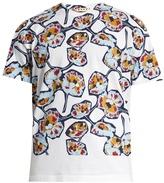 Marni Floral-print Cotton-jersey T-shirt