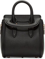 Alexander McQueen Black Mini Heroine Bag