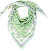 Tory Burch Multicolor Printed Scarf