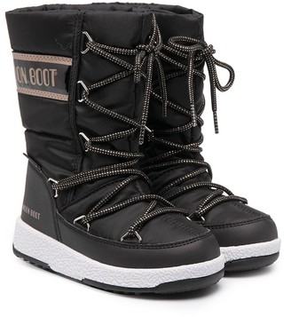 MOON BOOT KIDS Ankle Snow Boots